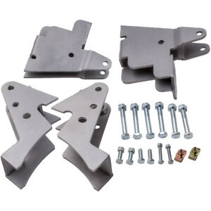 "2.5"" Lift Kit Brackets Front Rear Fit for Can-am Commander Utv 2011-2017 2016"