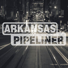 Arkansas Pipeliner Pipe Liner Decal Vinyl Oil Gas Pipeline Sticker Little Rock