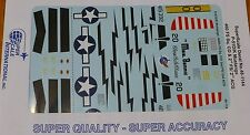 Microscale Decal 1:48 Scale #48-1144 / P-51D/K Mustangs: 460 FS Sq. CO & 2nd FS/