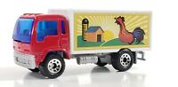 BOX DELIVERY TRUCK  WOOLWORTH 1:90 SCALE DIORAMA DIECAST MODEL CAR