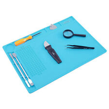 Magnetic Heat Insulation Silicone Mat for Repair Mobile Phone Camera Watch Kit