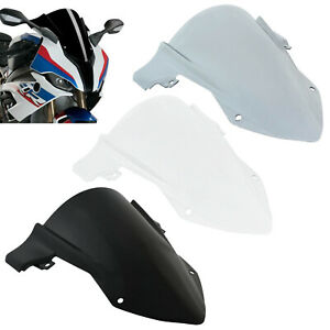 Double Bubble Windshield Windscreen Screen Shield For BMW S1000RR K67 2019-2021