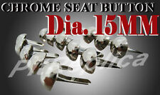 BMW BSA BENELLI BIG DOG CHROME SEAT BUTTON 15PCS #4
