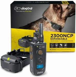 Dogtra 2300NCP Professional Advance Dog Training Shock Collar 3/4 Mile Remote Tr