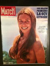 paris match n°1112 la 6CV citroen saint tropez 1970