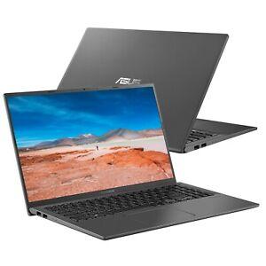 "Asus VivoBook X512JA-EJ568T 15.6"" Laptop i5-1035G1 8GB RAM 256GB SSD Grey"