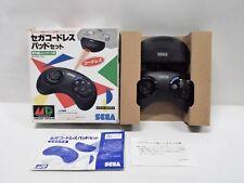 Sega Mega Drive - Cordless Pad Set SJ6500 - Boxed. Controller. Japan. 13867