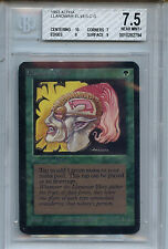 MTG Alpha LLanowar Elves BGS 7.5 NM+ with 10.0 Centering WOTC card 2794