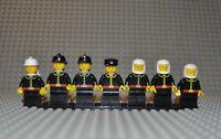 Lego Figuren Konvolut firec024 firec008 firec005 firec018 inkl. Airtank 3838