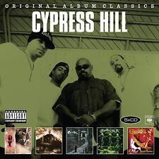 CYPRESS HILL - ORIGINAL ALBUM CLASSICS 5 CD NEUF