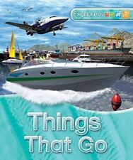 Clive Gifford, Explorers: Things That Go, Very Good, Hardcover