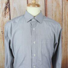 John Lennon English Laundry Men's Dress Shirt Medium 15.5 34/35 L/S Grey French