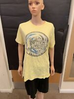 O'Neil Pale Yellow Short Sleeve T Shirt - UK Men's Size L