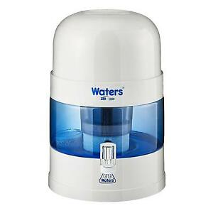 BIO 1000 - 10 Litre Bench Top Water Filter, Alkaliser and Ioniser - Off White...
