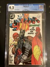 Superman #4 CGC 9.2 1987 Bloodsport 1st Appearance First Suicide Squad