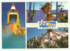 Butlins Funcoast World postcard (postmarked Skegness)