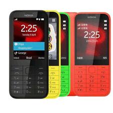 Original Nokia 225 Unlocked Dual SIM English Hebrew Keyboard Mobile Phone