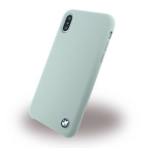 Genuine BMW Signature Hard Silicone Case for iPhone 8 & iPhone 7 in Grey