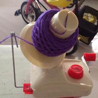 Wollwickler Wollhaspel Garnwinder Kreuzwickler Knitting Wool Winder Halter Hand