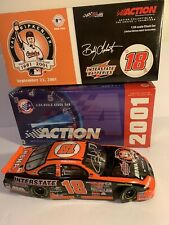 1:24 AUTOGRAPHED 2001 BOBBY LABONTE 18 INTERSTATE BATTERIES CAL RIPKEN Farewell