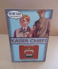KAISER CHIEFS Oh My God UK promo card in-store POS display MINT