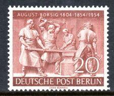 Berlin 1954 20pf August Borsig Mint Unhinged