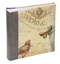 """Oiseau & Papillon Motif Album Photo 6x4"""" (200) 26534"""