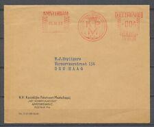 ROODSTEMPEL: AMSTERDAM 5.XII.63 K.P.M. 004 cent (Het Scheepvaarthuis, A'dam) Hc1