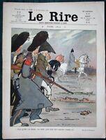 "Satirical Christmas Cartoons  - 1908 French Humor Magazine ""Le Rire"""