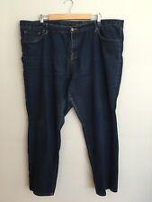Pure Energy Women's Plus Size 24 Skinny Dark Wash Stretch Denim Blue Jeans