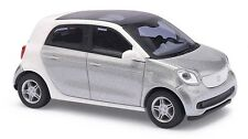Busch 49553 SMART FORFOUR cmd-collection, Argent H0 # Neuf Emballage Scellé #