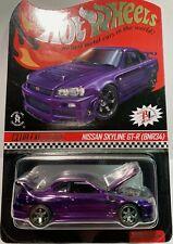 Hot Wheels 2020 RLC Nissan Skyline Purple GT-R BNR34 Club Car
