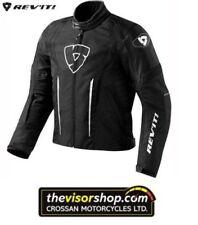 Giacche neri marca Rev ' it per motociclista uomo