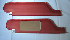 67-8 camaro  Ht new sun visors with vanity mirror red bedford