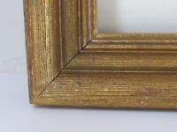 ANTIQUE   GREAT QUALITY GILT FRAME FOR PAINTING  14 X 12   ( d-17}
