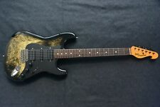BILL LAWRENCE STRAT MARBLE MADE IN JAPAN VINTAGE MID 80S - EARLY 90S MORRIS HSH