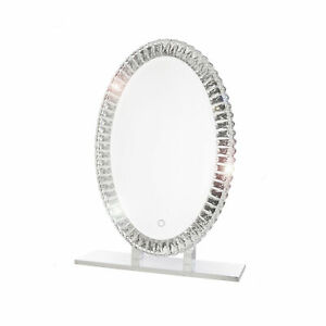 Dyconn Faucet Volta Tri-Color Oval LED Bathroom Mirror with Touch ON/OFF Dim