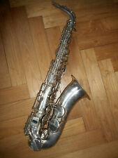 Ancien Saxophone alto CHAUVET à Paris - antique old vintage saxophone