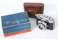 Agfa Karat 36 Camera in the original box, 35mm Rangefinder, Heligon 50mm f2 Lens