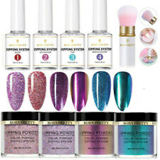 BORN PRETTY Nail Art Dipping Powder Glitter Dip Liquid System Nail Tools Kit