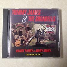 SHONDELLS, TOMMY JAMES & - HANKY PANKY/MONY MONY AUDIO CD