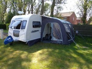 2010 Bailey Pegasus 462 2 Berth Caravan with awning and extras