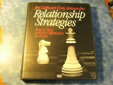 RELATIONSHIP STRATEGIES Jim Cathcart & Tony Alessandra 6 CASSETTES + BOOK 1985