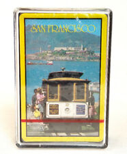 San Francisco Trolley Car Scene Deck Playing Cards And Plastic Case Sealed Pack
