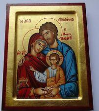 Hl.FAMILIE IKONE Josef Jesus Ikonen Icone Icon Holy Family Ikona Święta Rodzina