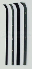 73-79 Ford F-100 F-150 Truck Door Chrome Beltline Weatherstrip Window Seal Kit