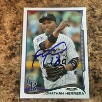 2014 Topps Update #US-187 Jonathan Herrera NM-MT Red Sox
