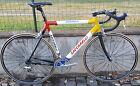 Bici corsa alu-carbon Saccarelli Dura-Ace 7700 Ambrosio Spinergy Spox road bike