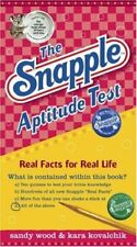The Snapple Aptitude Test  Real Facts for Real Life