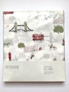 Little White Company London Single Duvet Cover Set BNWT / Duvet Cover+Pillowcase